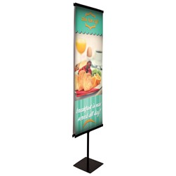 Snap Rail Banner Stand