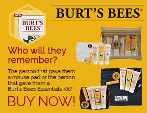 Custom Imprinted Burt's Bees Essentials Kits