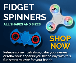 Custom Imprinted Fidget Spinners