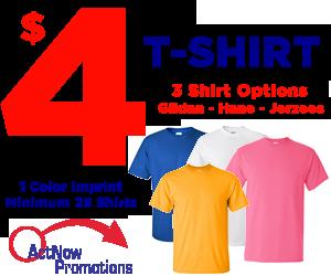 $4 T-Shirt Offer