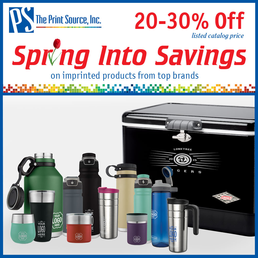 Spring into Savings with The Print Source, Inc.