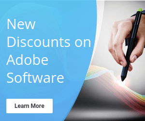 Adobe Discounts Now Available!