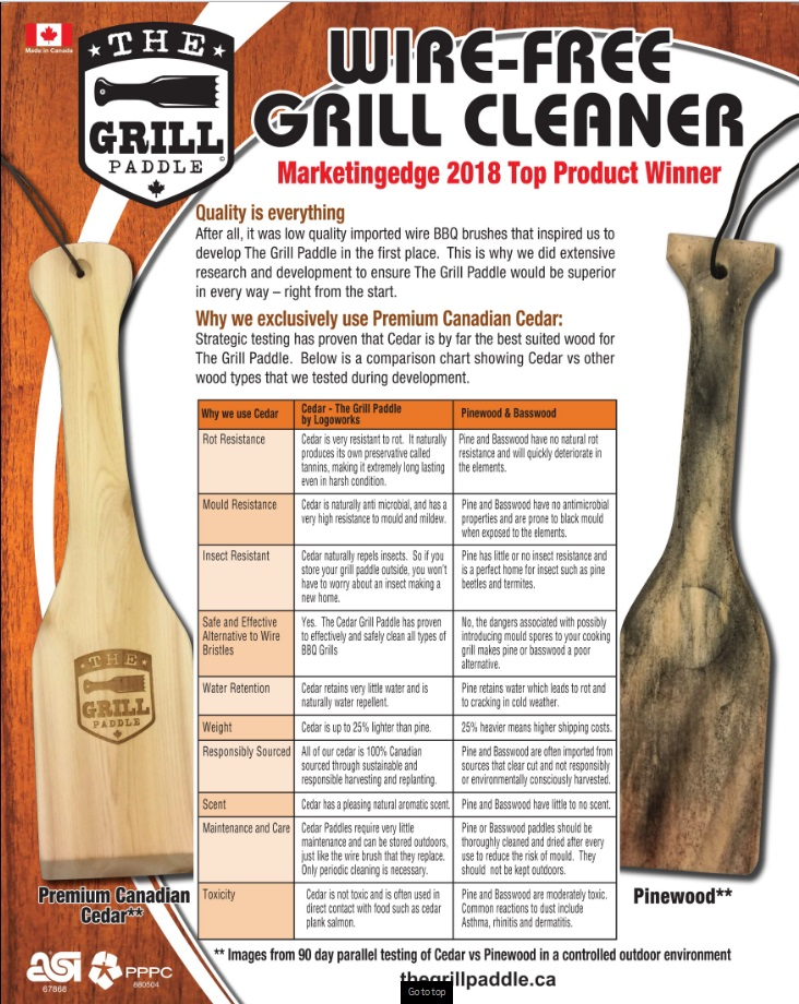The Grill Paddle LogoSTUFF ABADOO