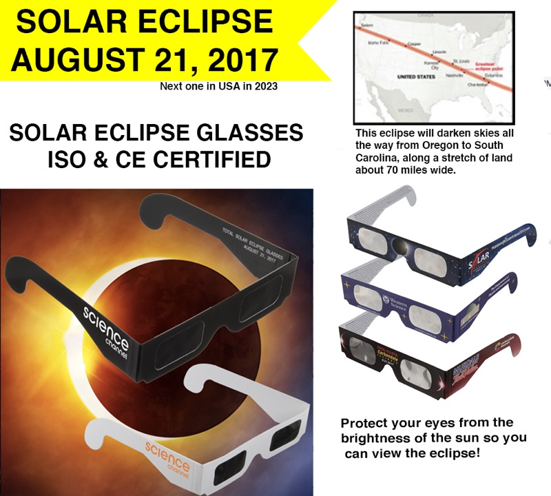 Glasses for Eclipse