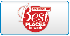 ASI Counselor Magazine best places to work winner