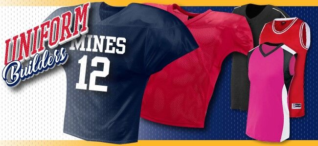 2ea060e1f6f2 Uniform Builders  Customize the exact look you want at Denver Athletic