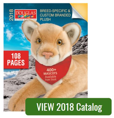 2018 Douglas Promotional Plush Catalog