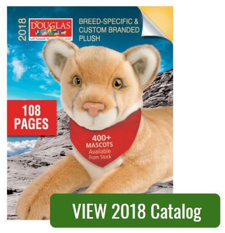 2018 Douglas Promotional Plush Catalog