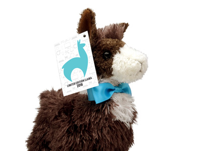 Hangtags for Douglas plush animals. Custom printing Full-color, double-sided cards, tags, or mini-brochures.