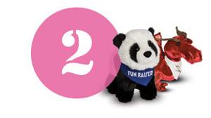 Plush customization ordering step 2 Decide Quantity Douglas  toy animals.