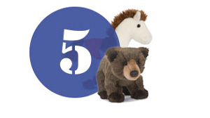 Plush customization ordering step 5 Provide your Artwork Douglas toy animals.