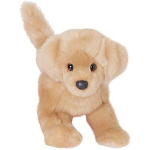 Bella Golden Retriever promotional plush toy. Great fundraising Dog for pet foundations, awards events.