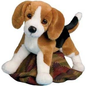 Bernie Beagle Promtional plush dog. Great for New & Used Car Sales and law school mascots.