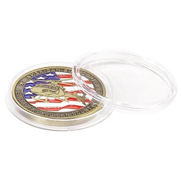 acrylic coin holders