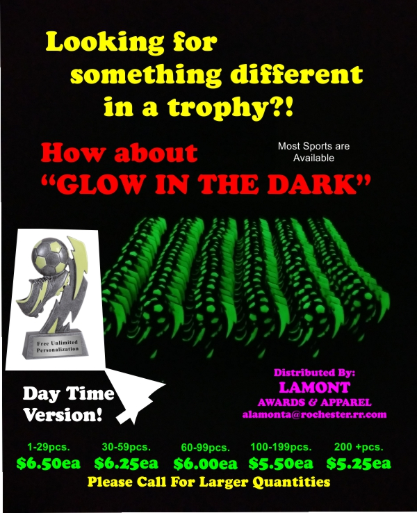 Glow in the Dark Trophy