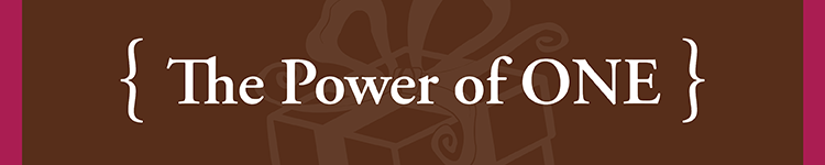 power of one banner