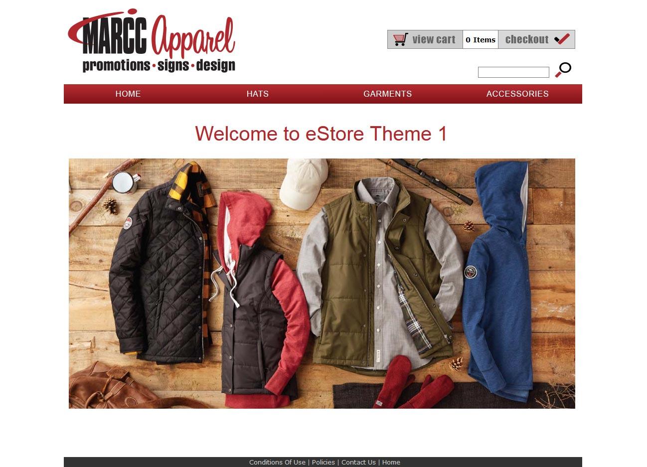 MARCC Sample eStore