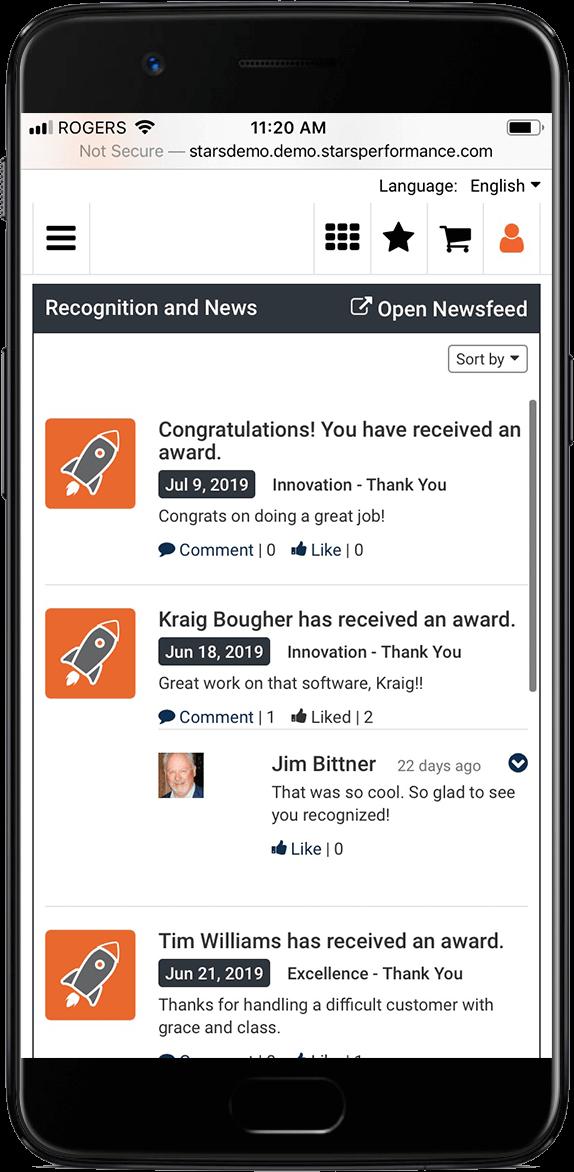 Mobile Optimized Recognition Platform
