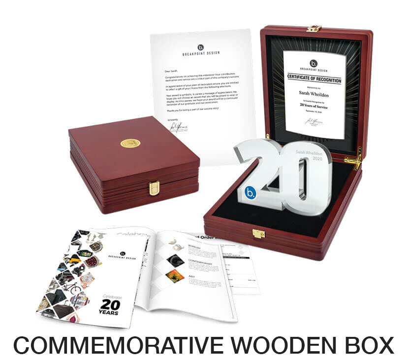 Wooden Keepsake Box - STARS Service Awards