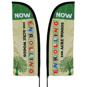 Custom feather, sail or teardrop banner