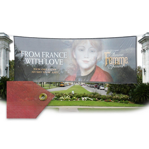 Outdoor custom mesh banner