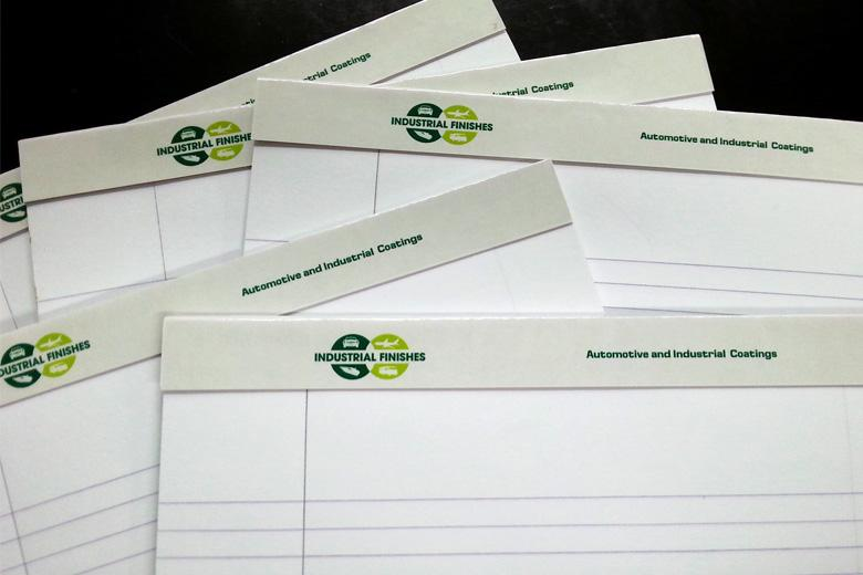 Branded stationary and business cards are available from Pinnacle Products