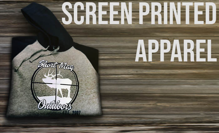 Screen printed apparel