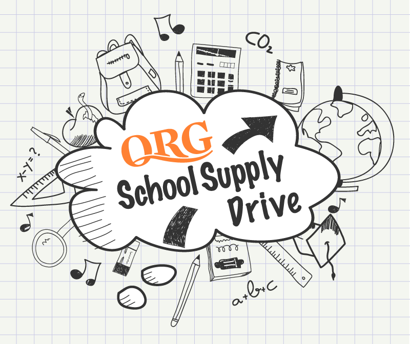 QRG School Supply Drive