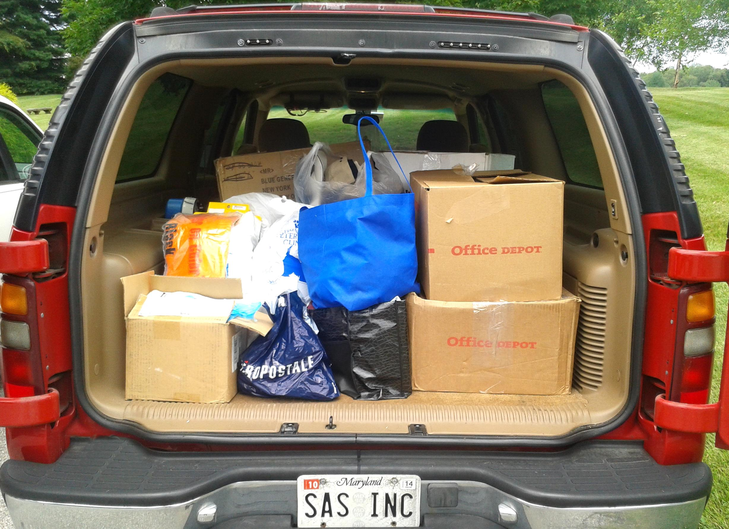 Printing Invoice Sas Promotions  Promotional Products  Apparel Merch Corporate  Free Receipts Templates Excel with Star Receipt Printer Paper Here Is A Small Sampling Of What They Allowed Us To Haul Away For The  Donation Project  Sample Invoices With Payment Terms
