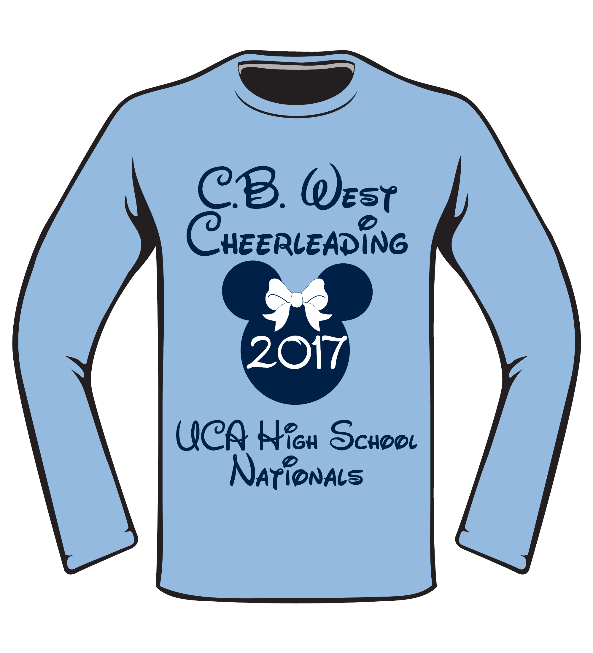 CB West Cheerleading Full Front 37088