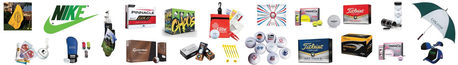 golf balls, golf towels, golf tees, golf tools, golf gear