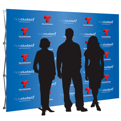 10ft- step & repeat- back wall- display- local- trade show- VA- Undercover Printer