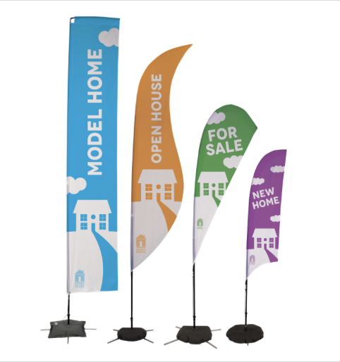 Custom- printed flags- custom printed flags- outdoor- display- outdoor display- local- VA- trade show- Undercover Printer