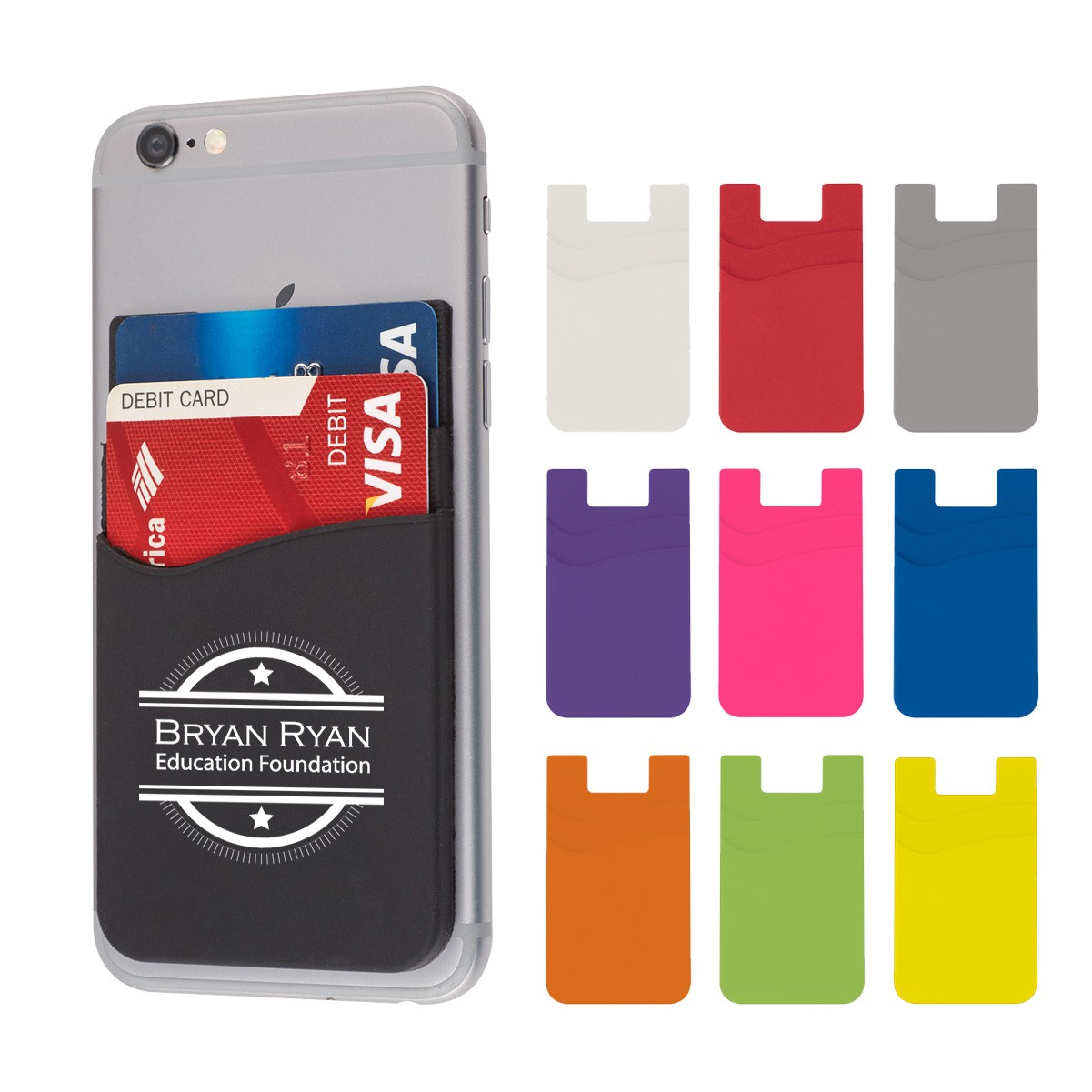 phone- wallet- phone wallet- promotional item- custom promos- local- VA- Undercover Printer
