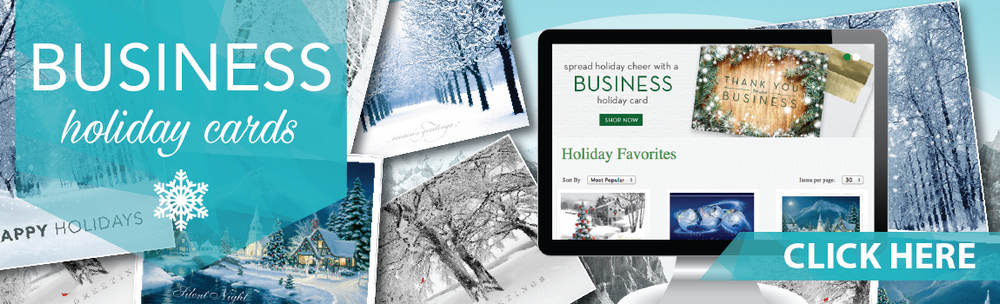 Business Holiday Card Site
