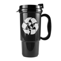 Recycled travel mugs