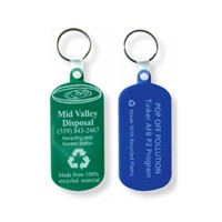 Recycled key tags and key holders