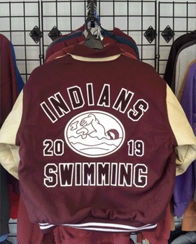 INDIANS SWIMMING