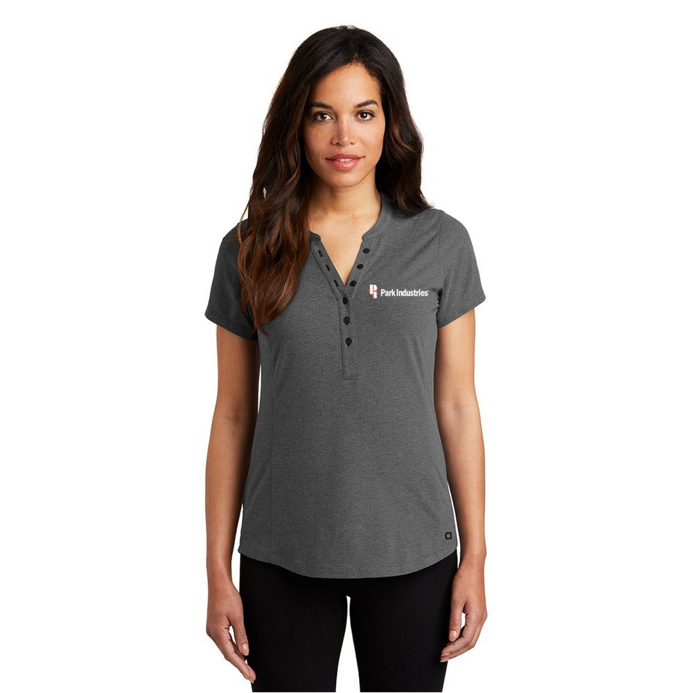OGIO® Ladies' Thread Henley Shirt