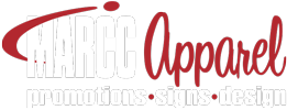 MARCC Apparel, Promotions, Signs, Design