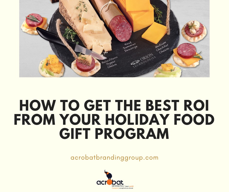 How to Get the Best ROI From Your Holiday Food Gift Program