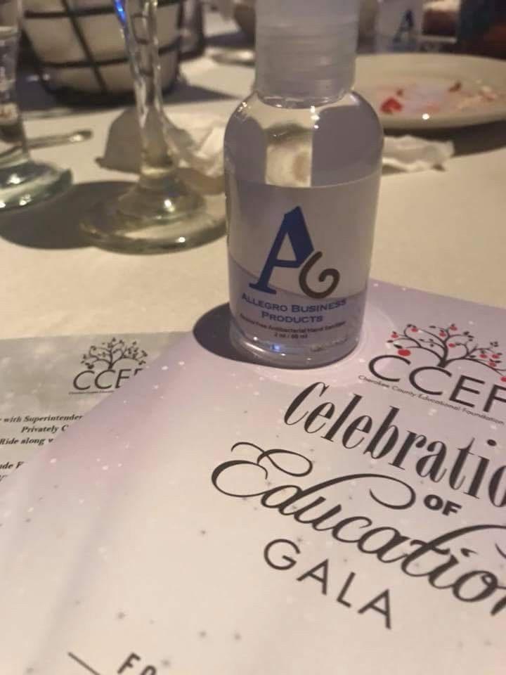 Allegro Sponsors Cherokee County Education Foundation