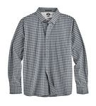 Custom Men's Gingham 4-Way Stretch Eco-Woven Shirt