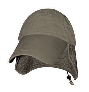 d80b0fd384 Big Bill Fishing Cap w  Protective Neck Flap - 87ENZ - IdeaStage  Promotional Products