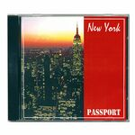 Custom New York Travel Music CD