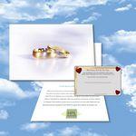 Custom Cloud Nine Wedding Music Download Greeting Card