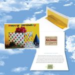 Custom Cloud Nine Birthday Music Download Greeting Card / Happy Birthday & Party Time Albums