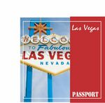 Custom Las Vegas Passport Travel Music CD