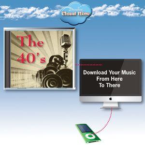 Cloud Nine Acclaim Greeting with Music Download Card - JD40 1940s Big Band Hits V1 & V2