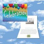 Custom Cloud Nine Celebration Music Download Greeting Card / Party Time V1 & V2